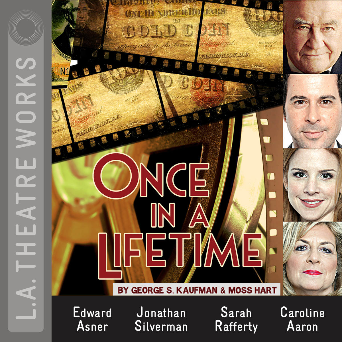 Printable Once in a Lifetime Audiobook Cover Art