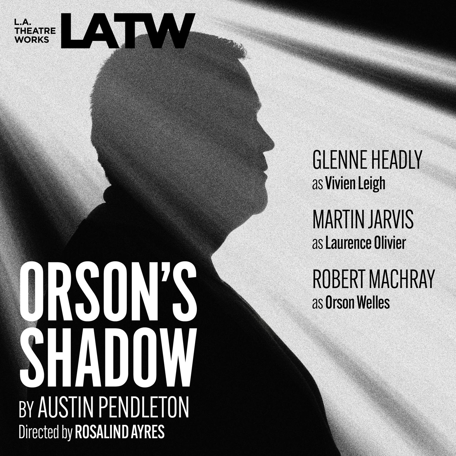 Printable Orson's Shadow Audiobook Cover Art