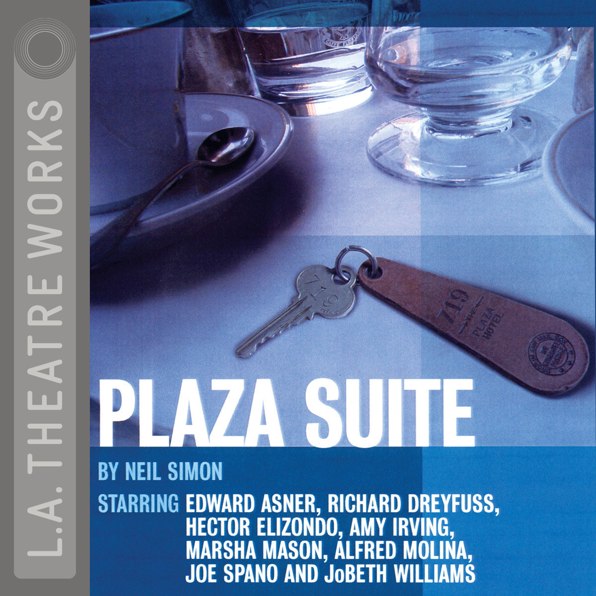 Printable Plaza Suite Audiobook Cover Art