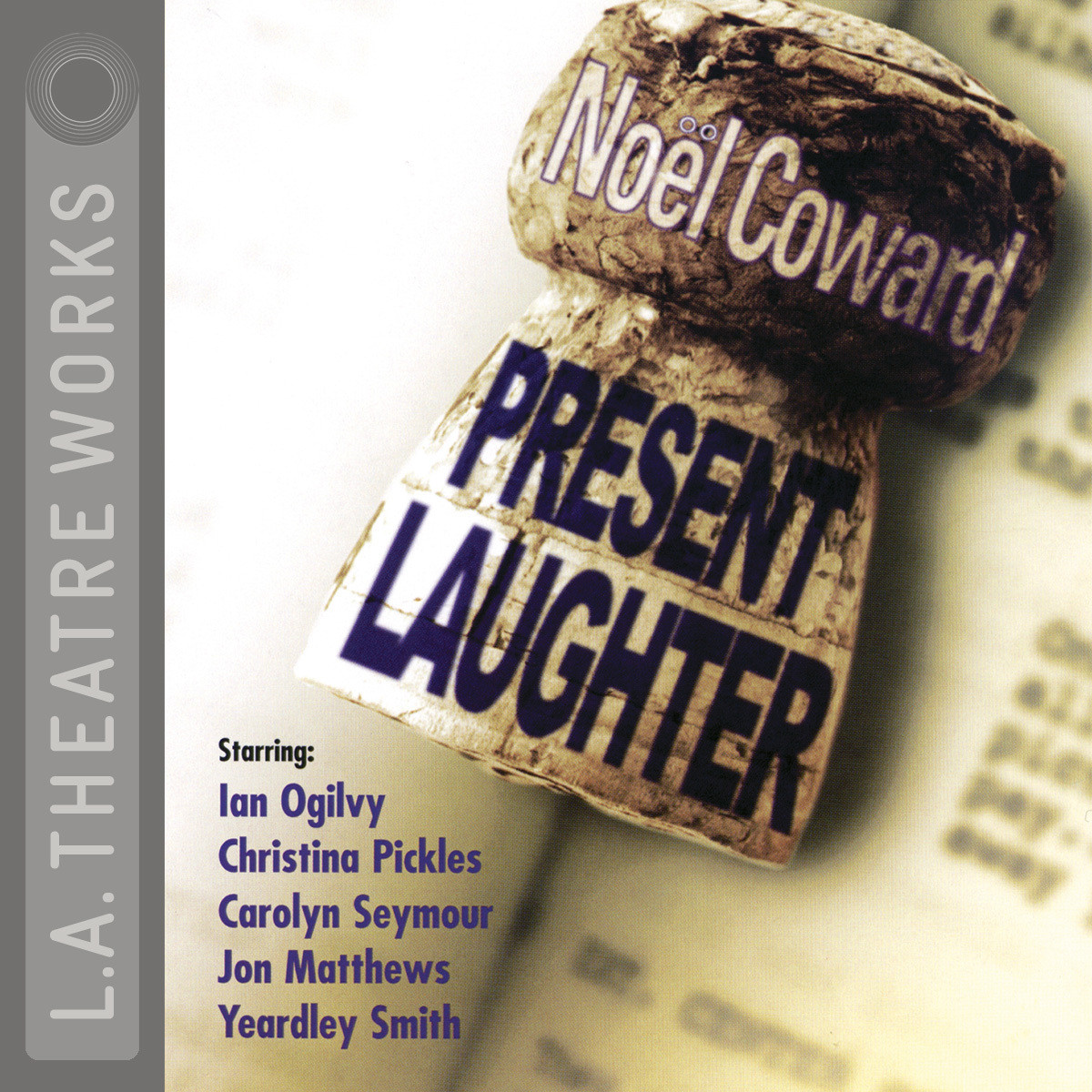 Printable Present Laughter Audiobook Cover Art