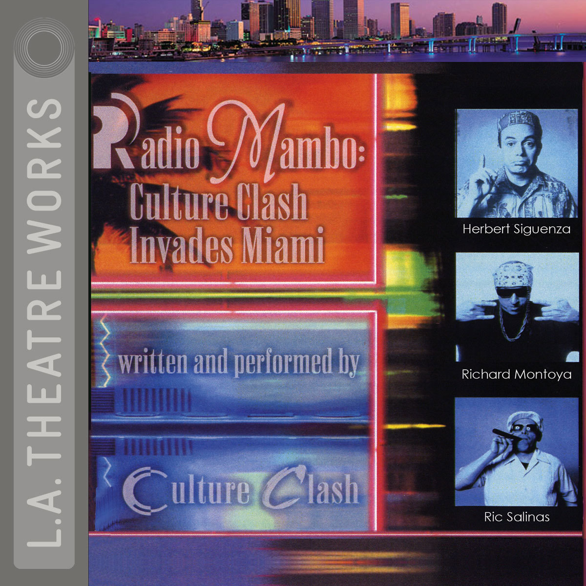 Printable Radio Mambo: Culture Clash Invades Miami Audiobook Cover Art