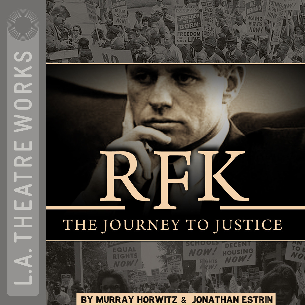 Printable RFK: The Journey to Justice Audiobook Cover Art
