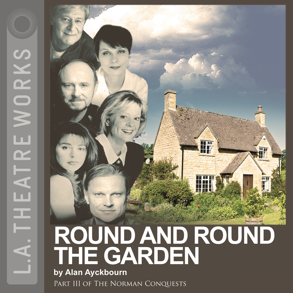 Printable Round and Round the Garden Audiobook Cover Art