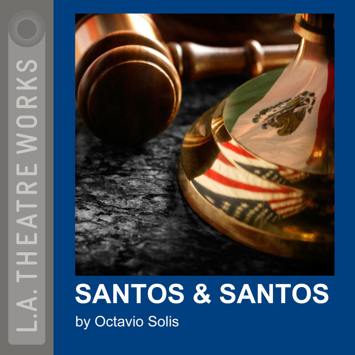 Printable Santos & Santos Audiobook Cover Art