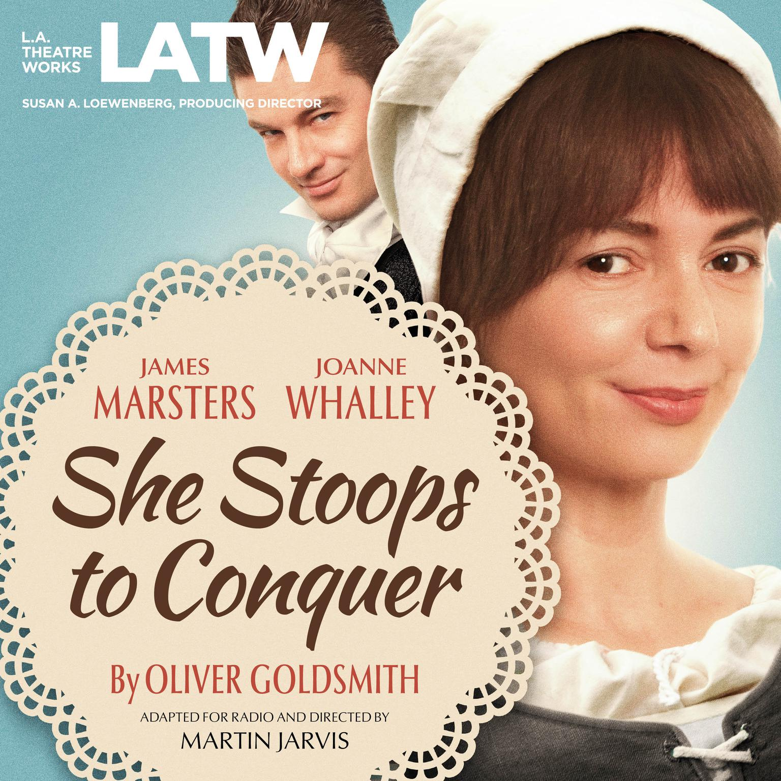 Printable She Stoops to Conquer Audiobook Cover Art