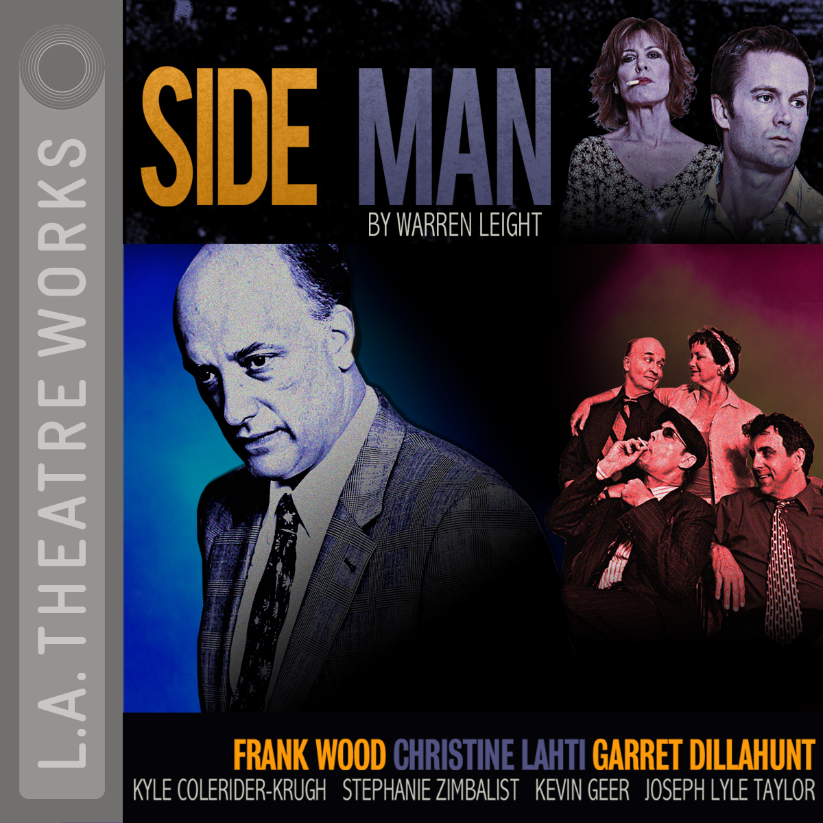 Printable Side Man Audiobook Cover Art