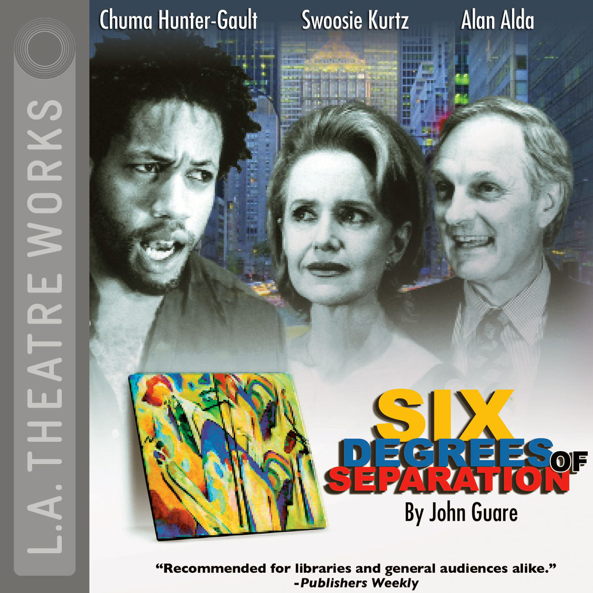 Printable Six Degrees of Separation Audiobook Cover Art