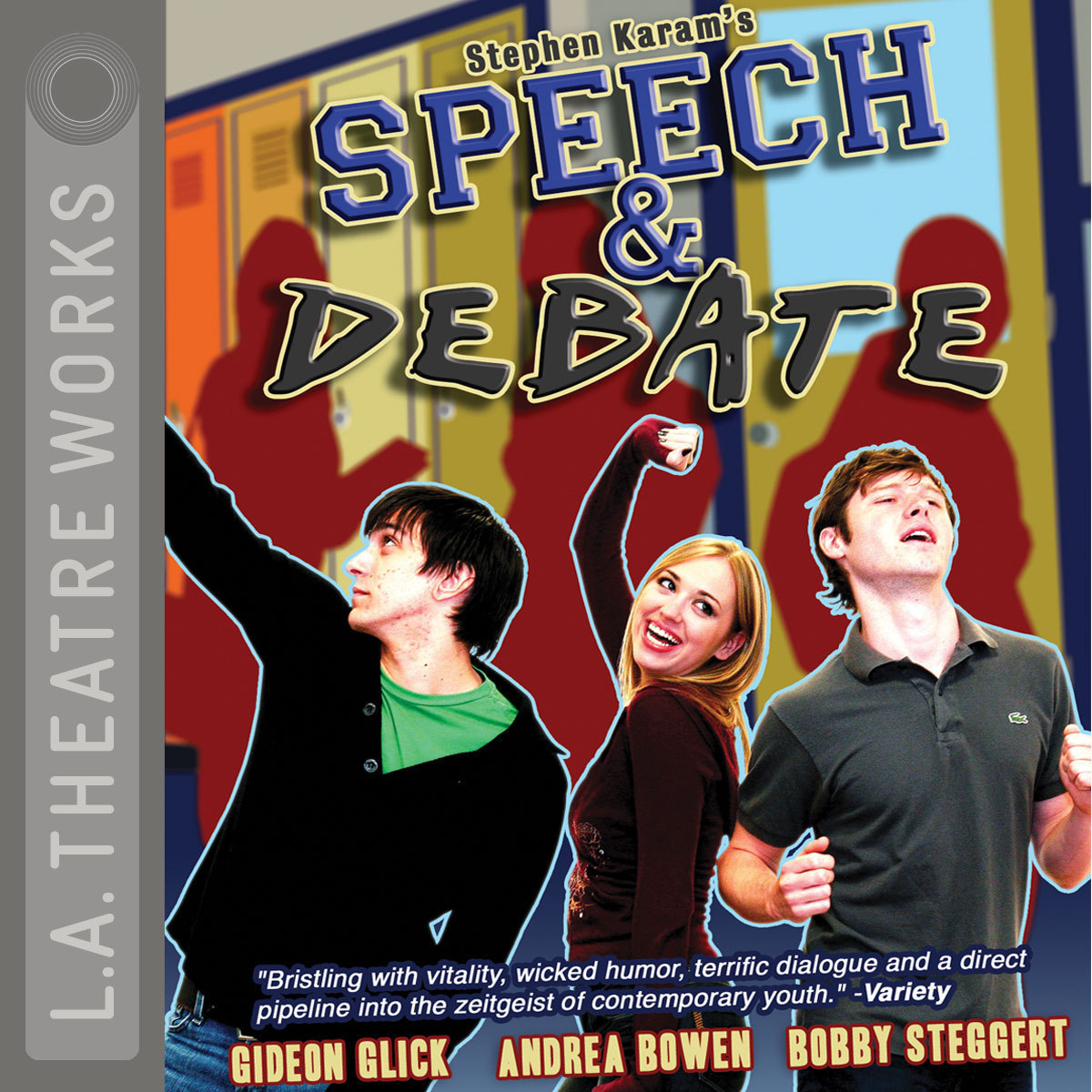 Printable Speech and Debate Audiobook Cover Art