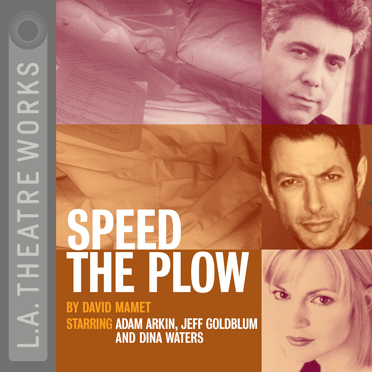 Printable Speed the Plow Audiobook Cover Art