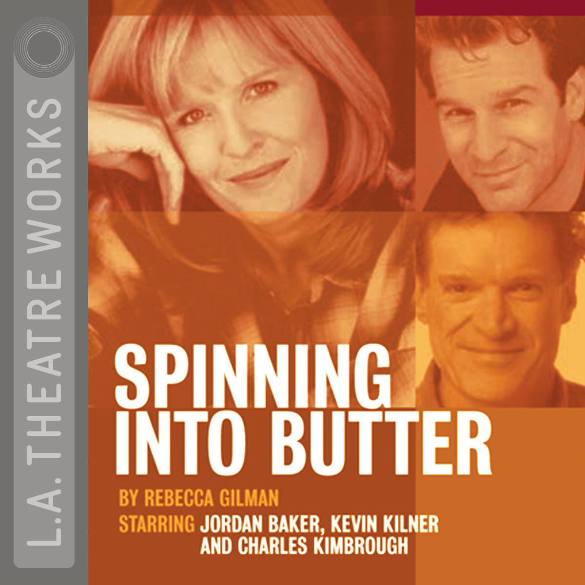 Printable Spinning into Butter Audiobook Cover Art