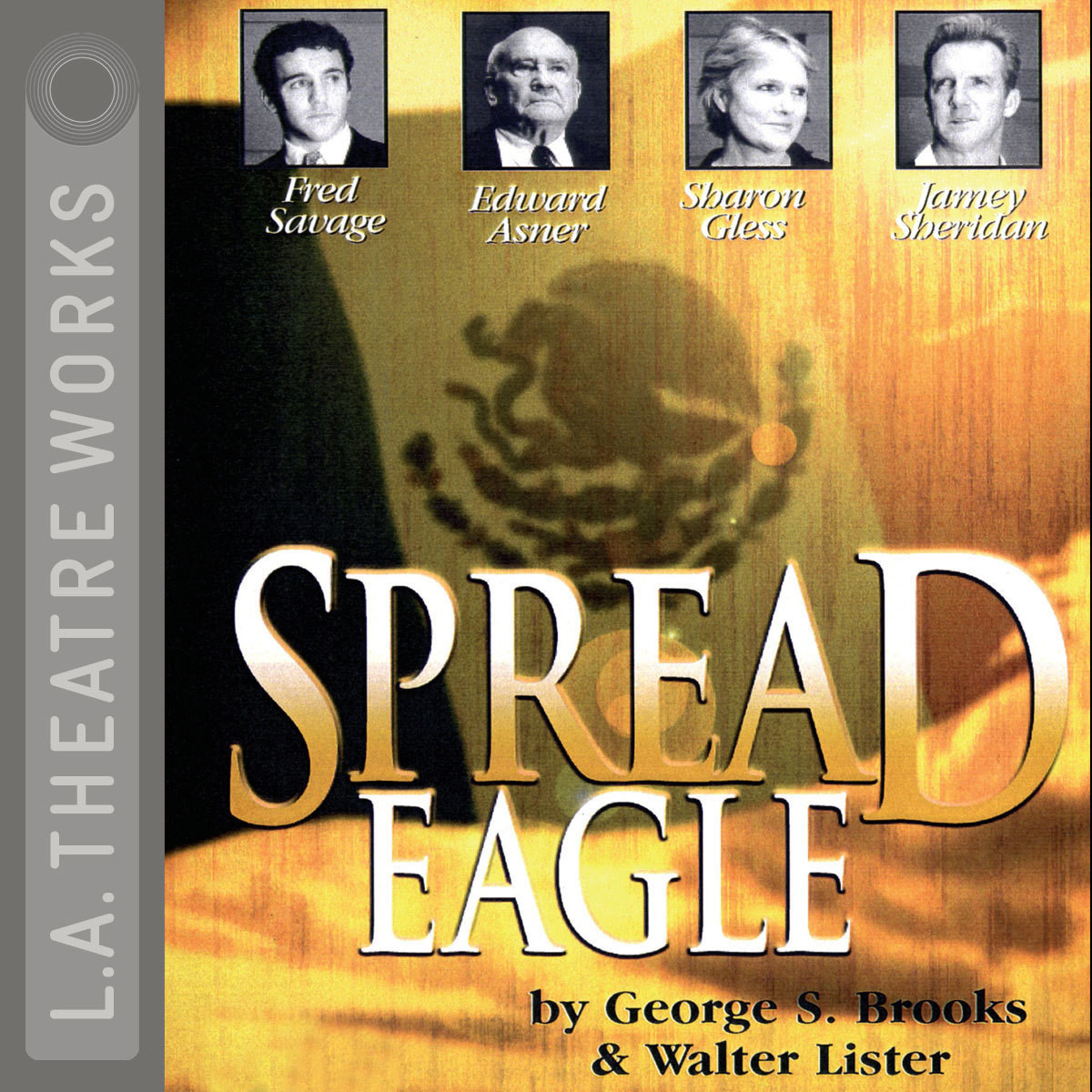 Printable Spread Eagle Audiobook Cover Art