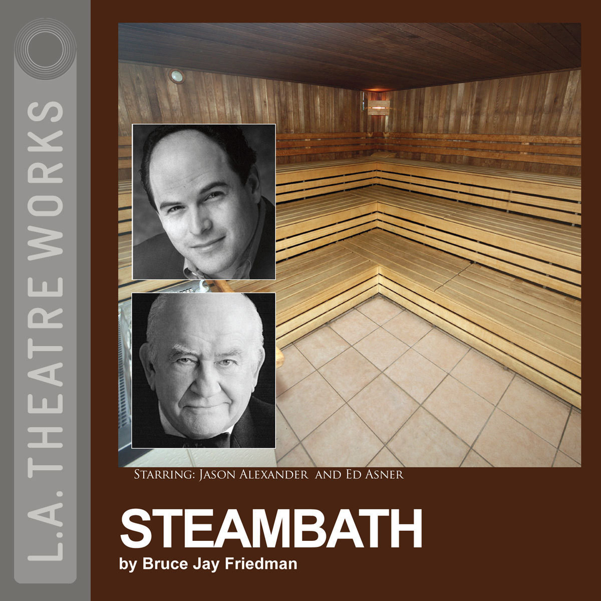 Printable Steambath Audiobook Cover Art