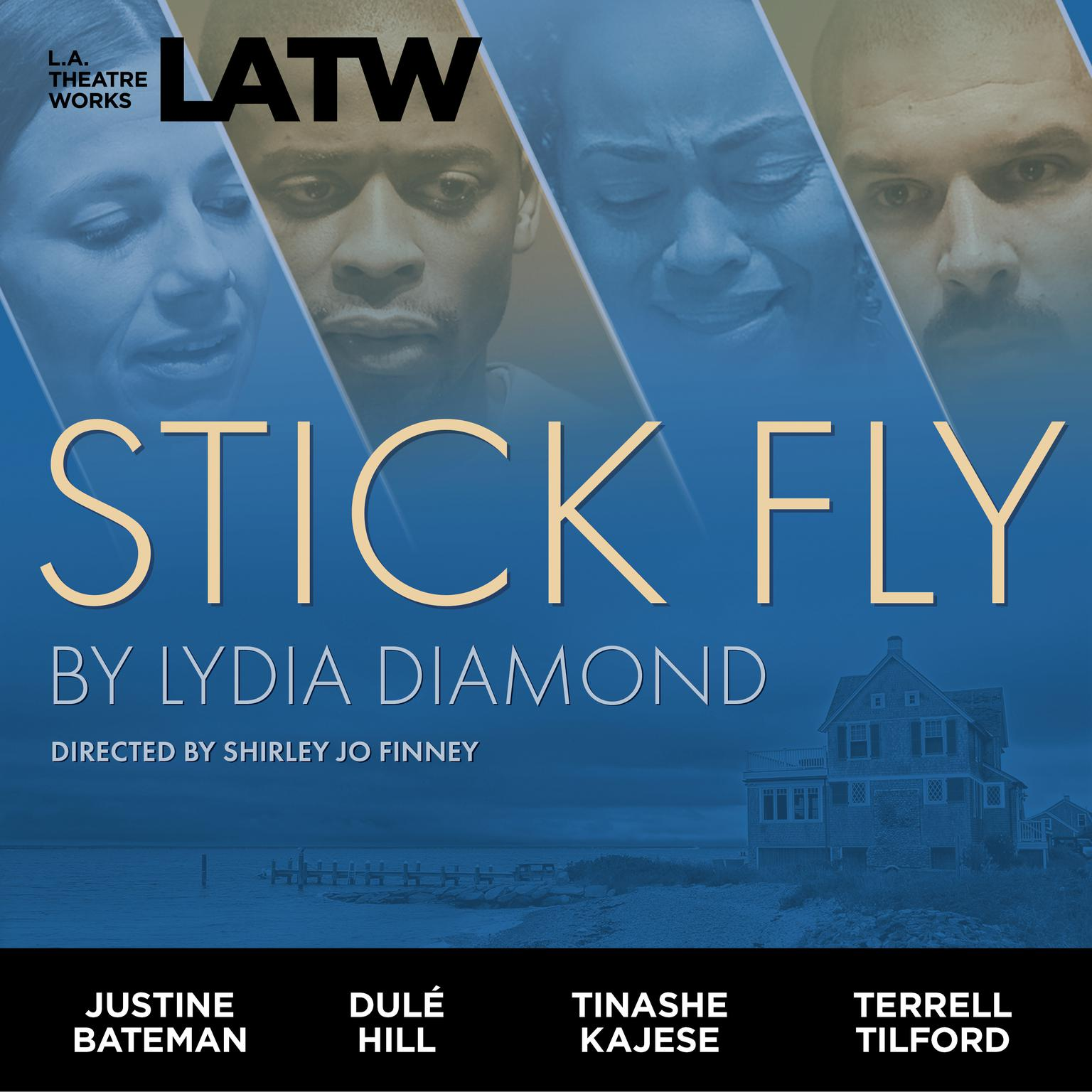 Printable Stick Fly Audiobook Cover Art