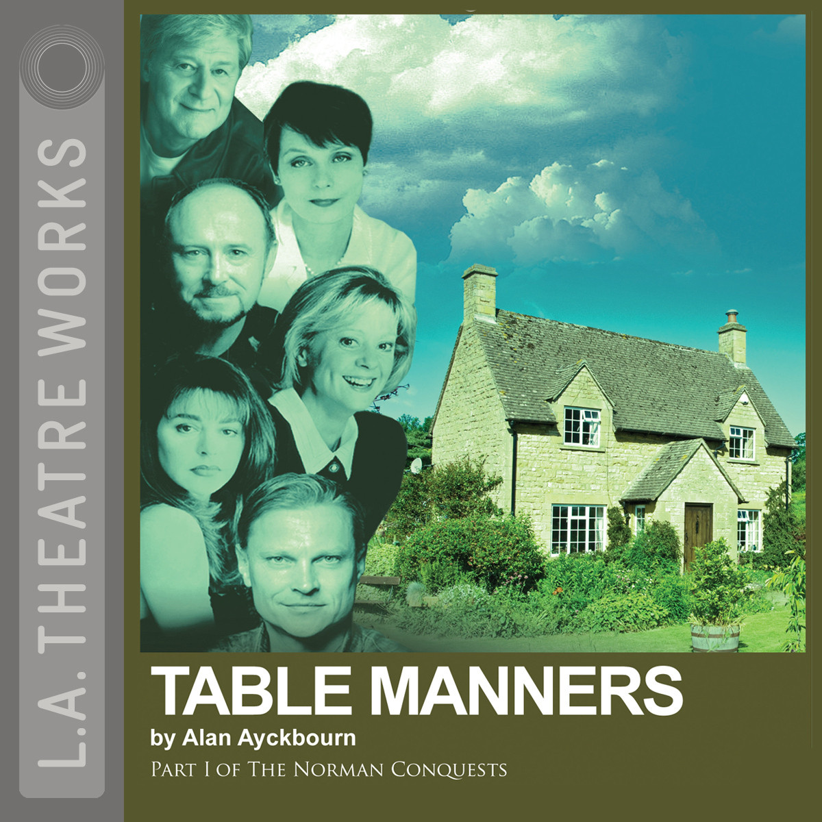 Printable Table Manners Audiobook Cover Art
