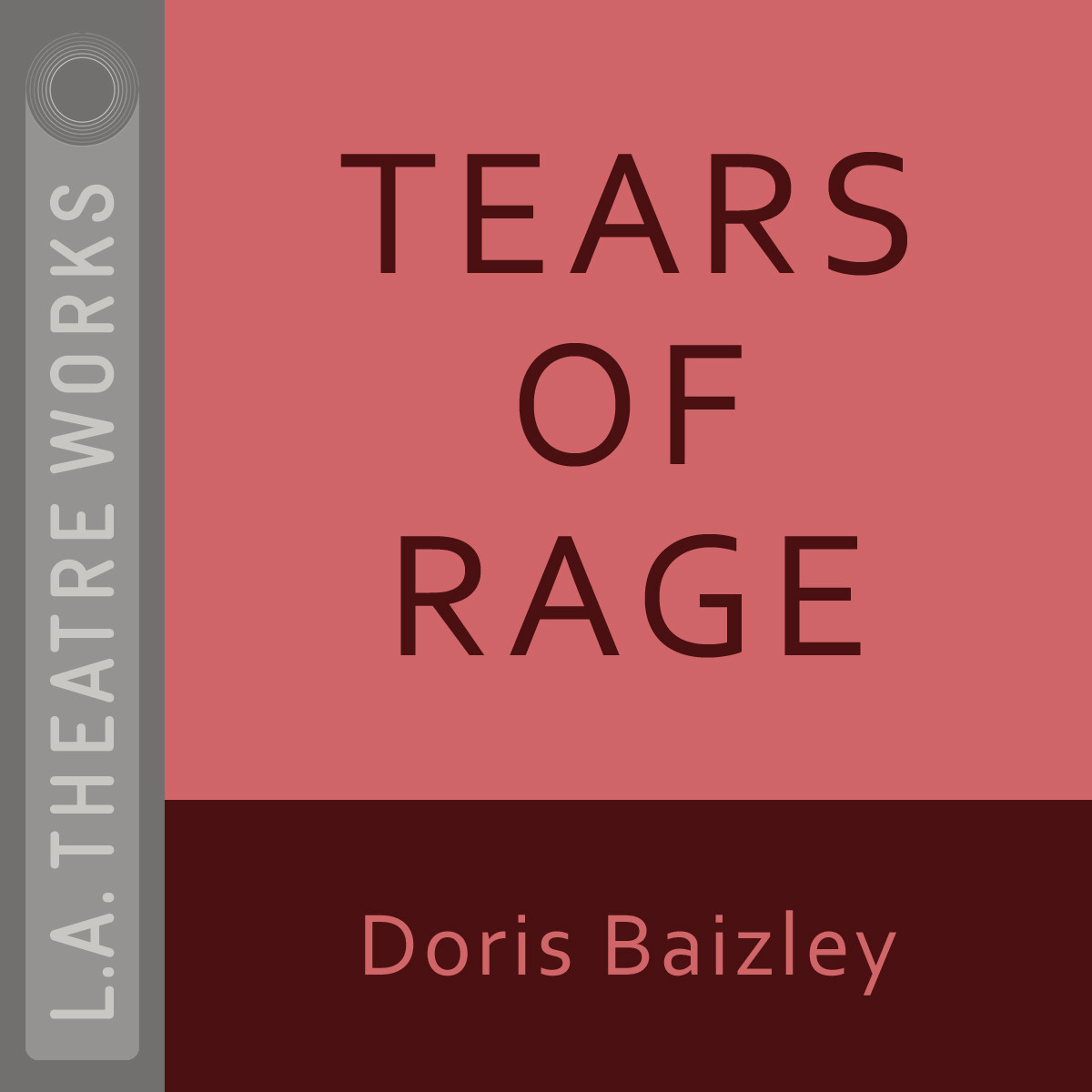 Printable Tears of Rage Audiobook Cover Art