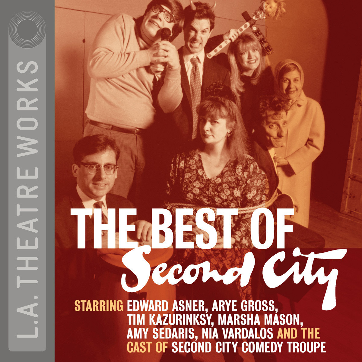 Printable The Best of Second City Audiobook Cover Art