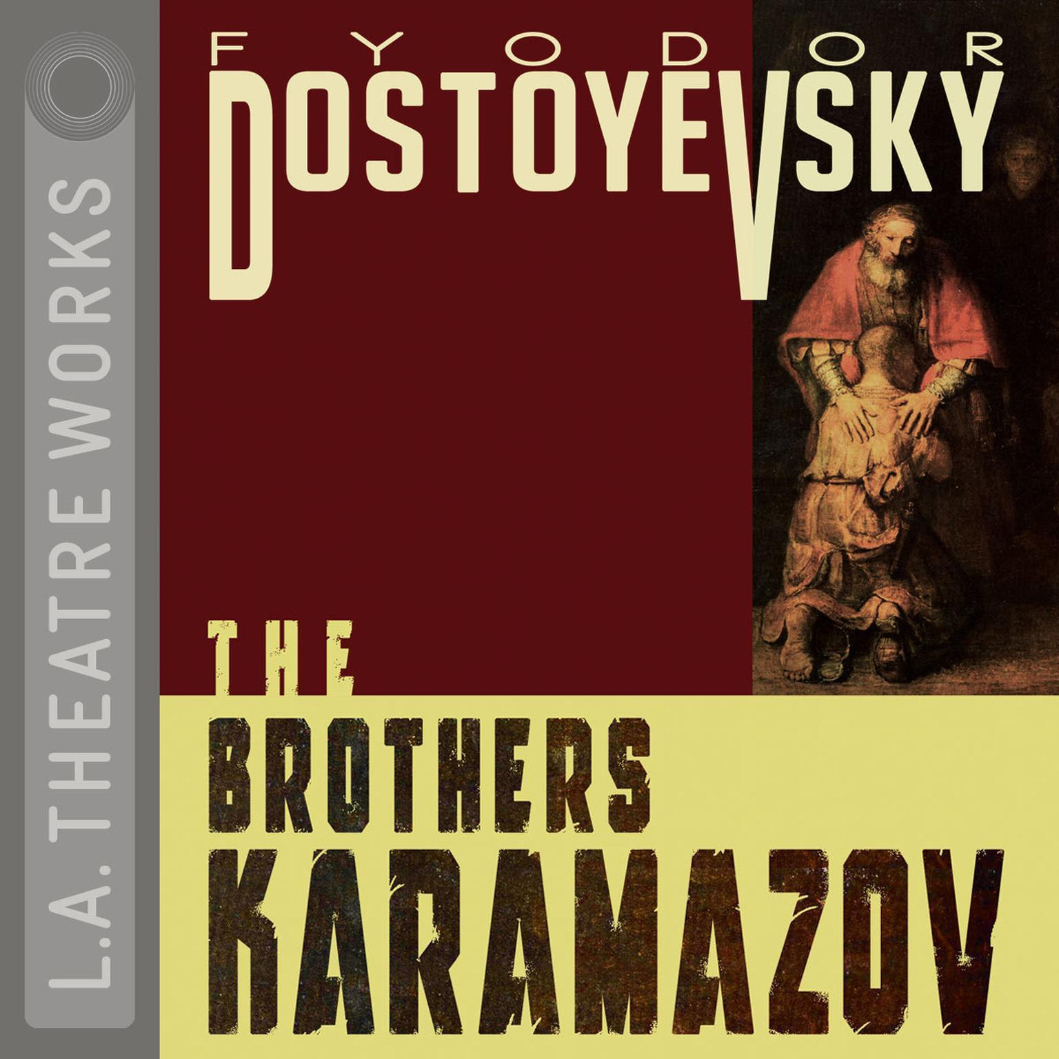 Printable The Brothers Karamazov Audiobook Cover Art