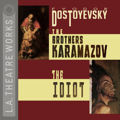 The Brothers Karamazov and The Idiot Audiobook, by Fyodor Dostoevsky