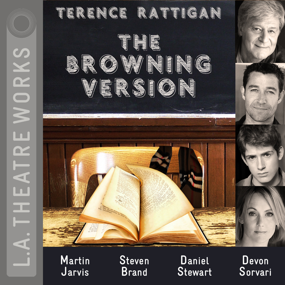 Printable The Browning Version Audiobook Cover Art