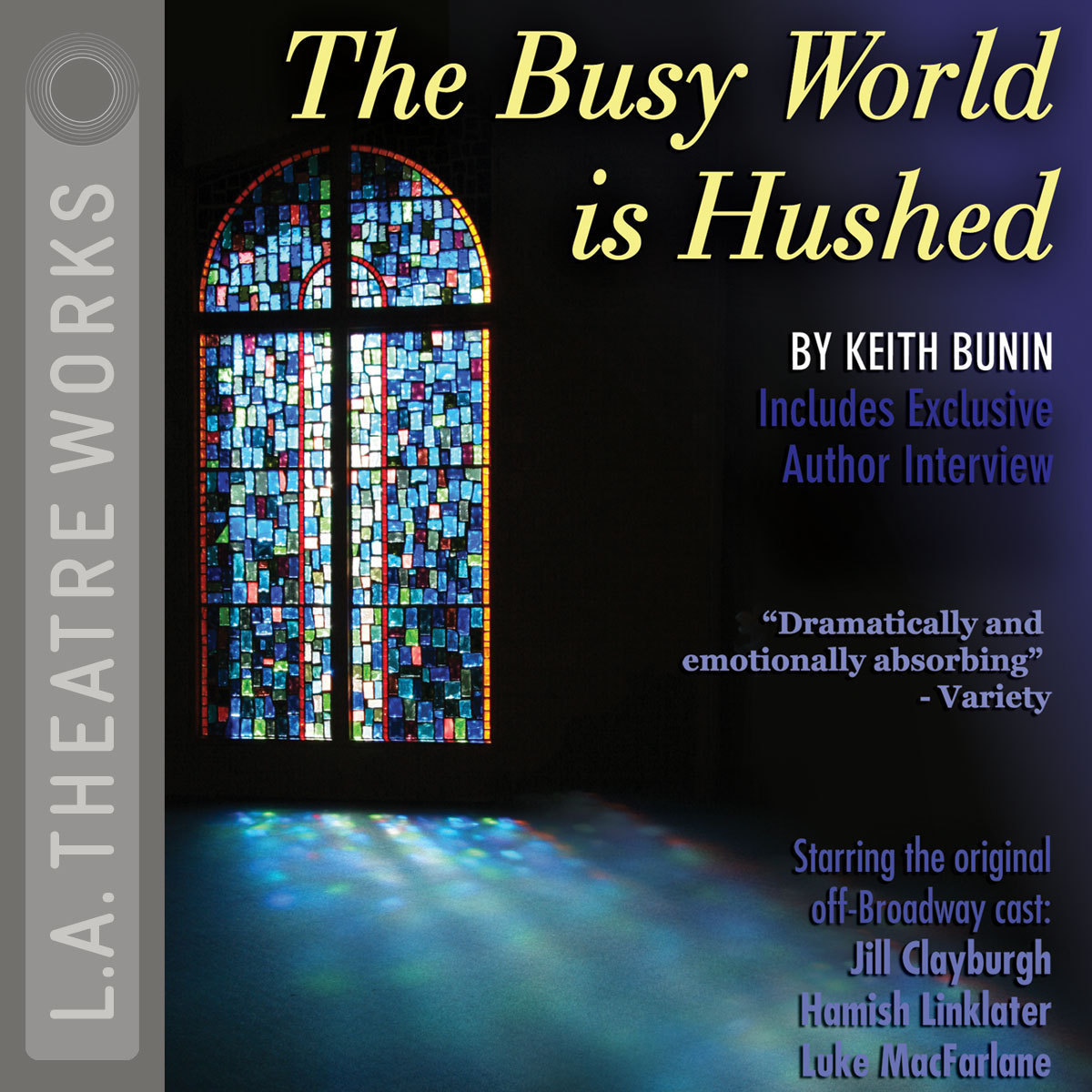Printable The Busy World Is Hushed Audiobook Cover Art