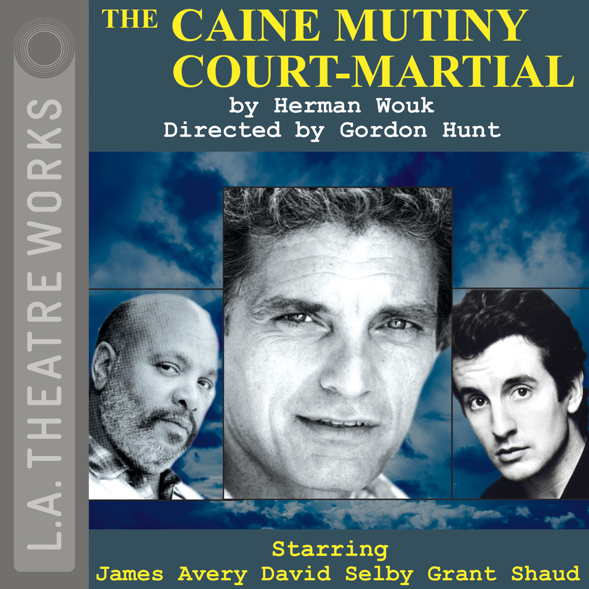 Printable The Caine Mutiny Court-Martial Audiobook Cover Art