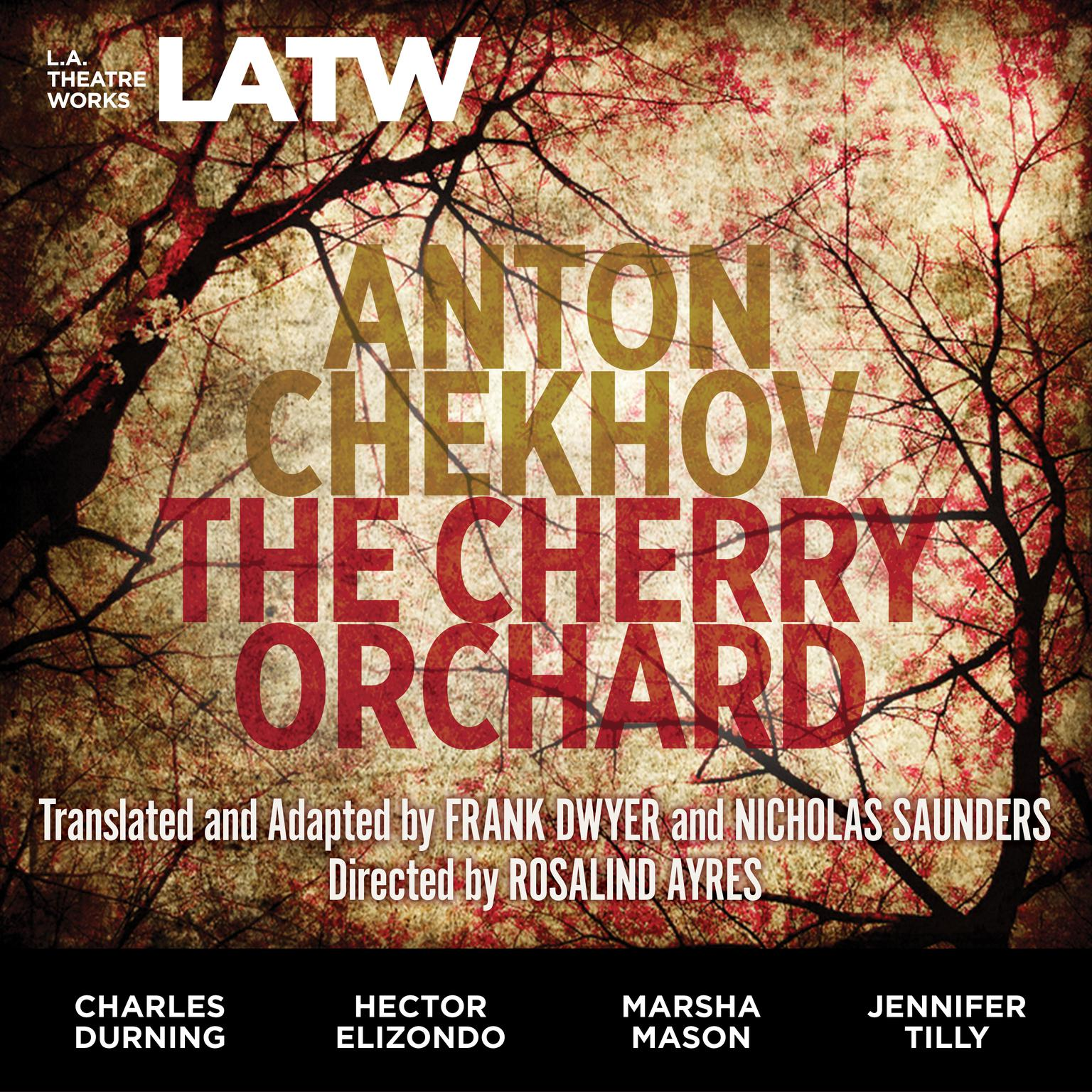 Printable The Cherry Orchard Audiobook Cover Art