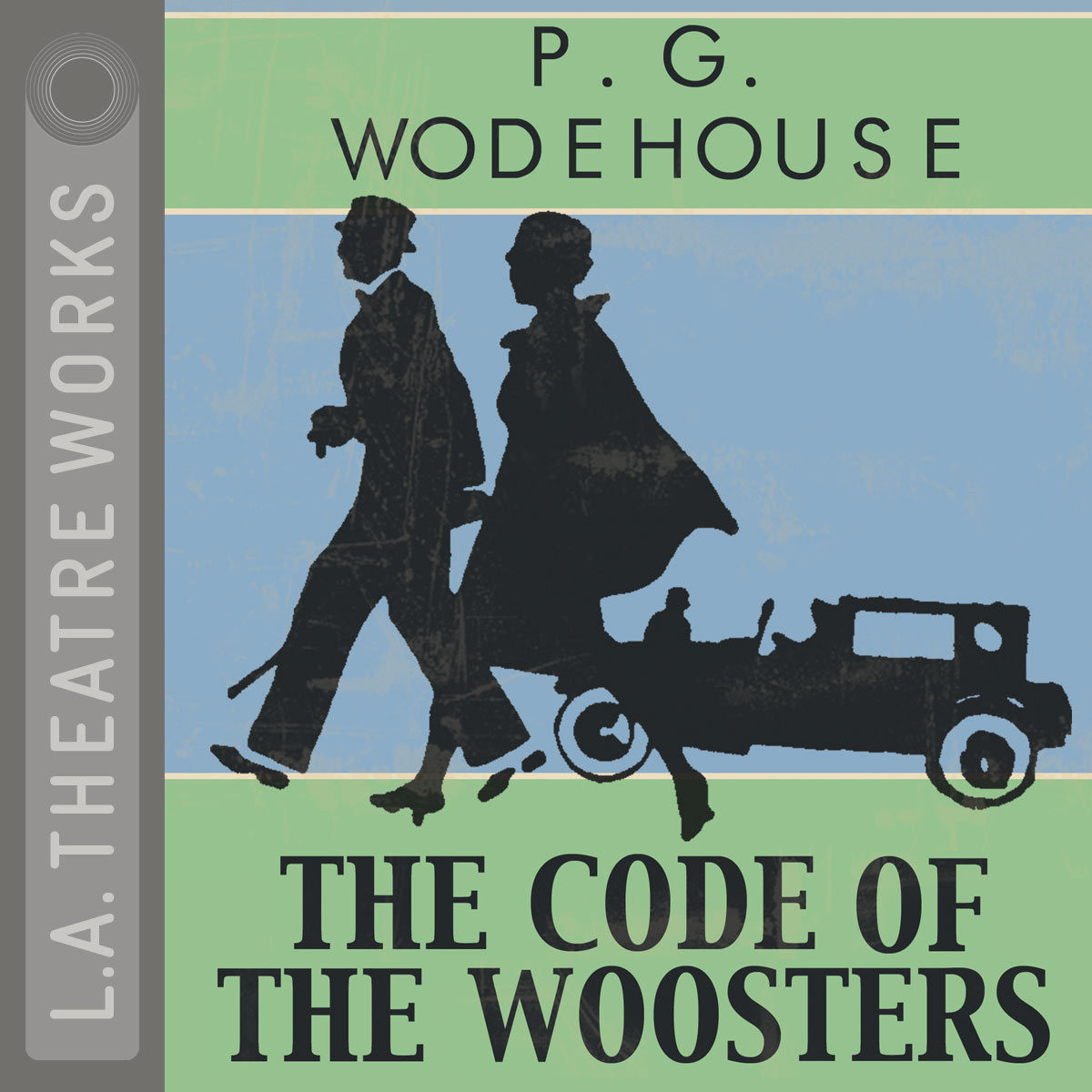 Printable The Code of the Woosters Audiobook Cover Art
