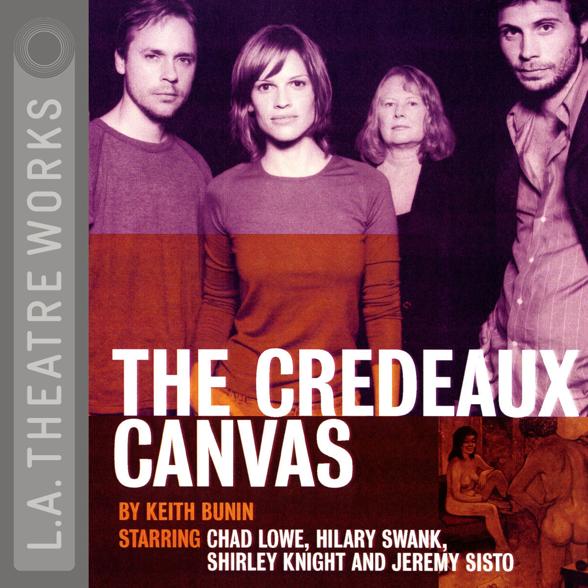Printable The Credeaux Canvas Audiobook Cover Art