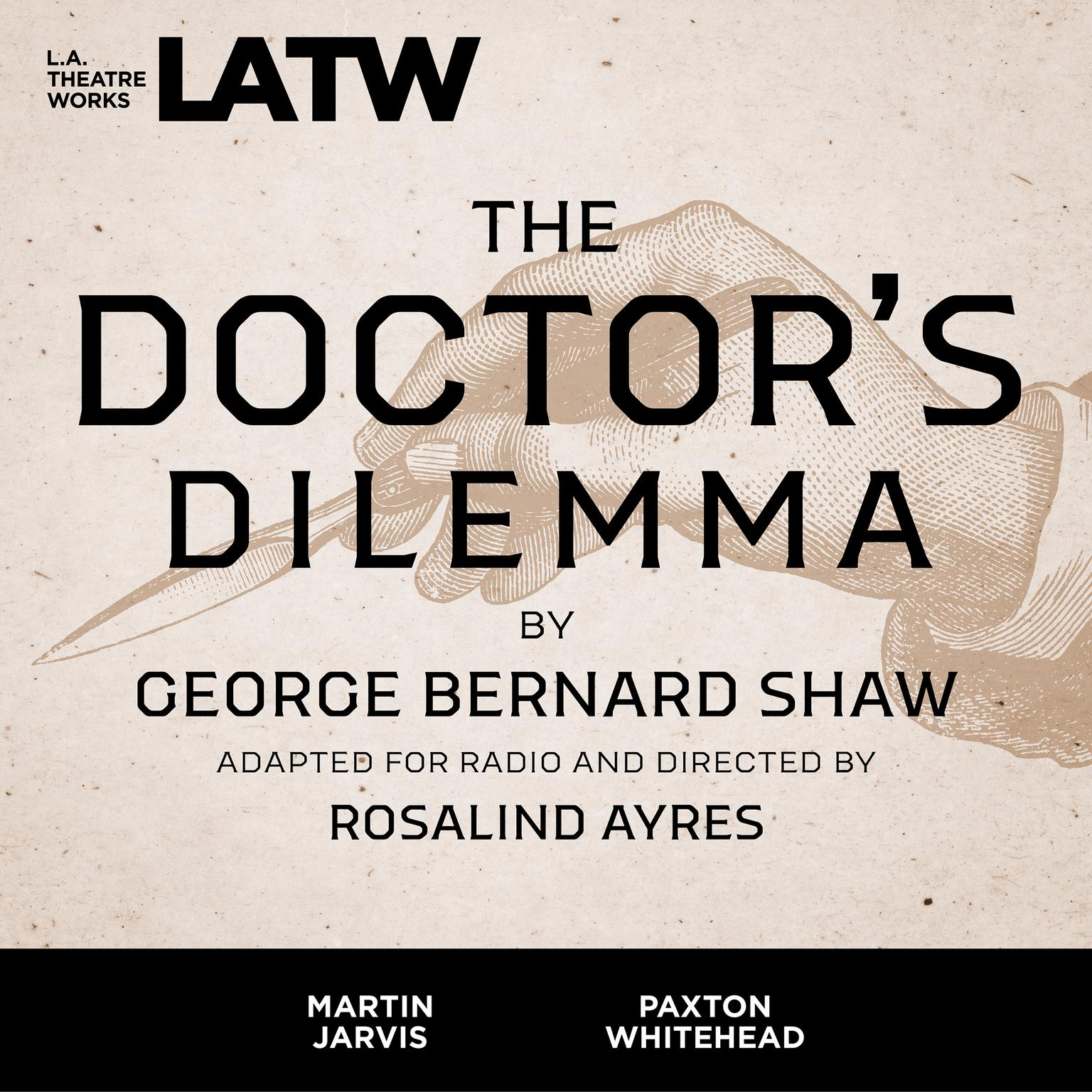 Printable The Doctor's Dilemma Audiobook Cover Art