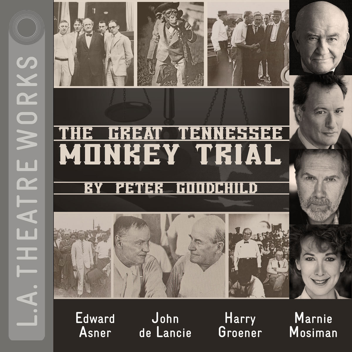 Printable The Great Tennessee Monkey Trial Audiobook Cover Art