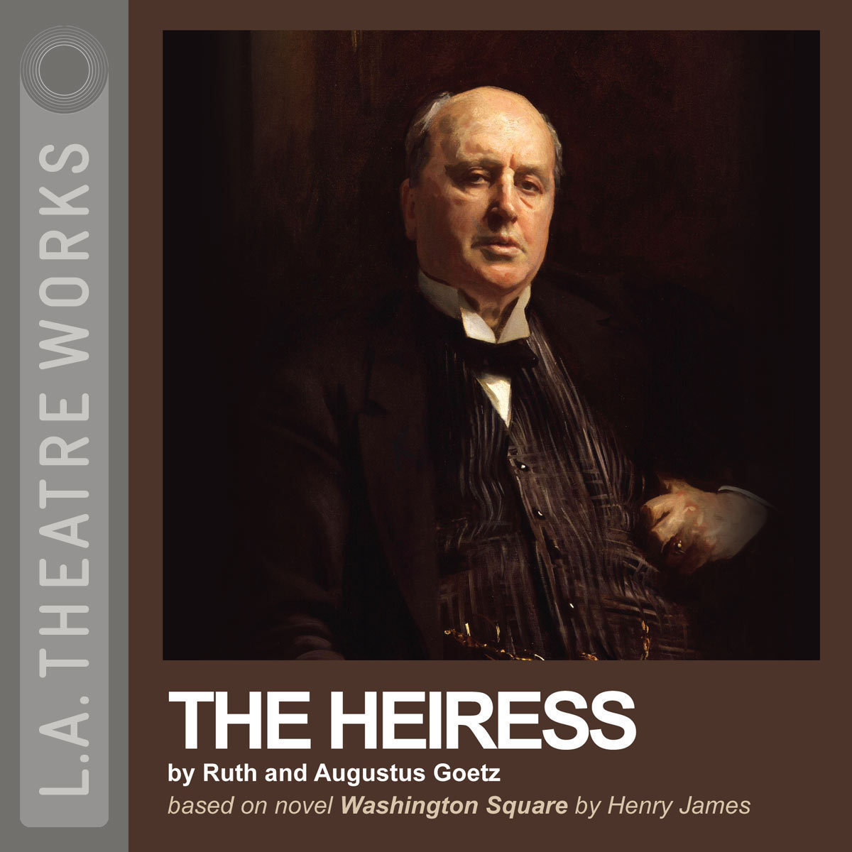 Printable The Heiress Audiobook Cover Art