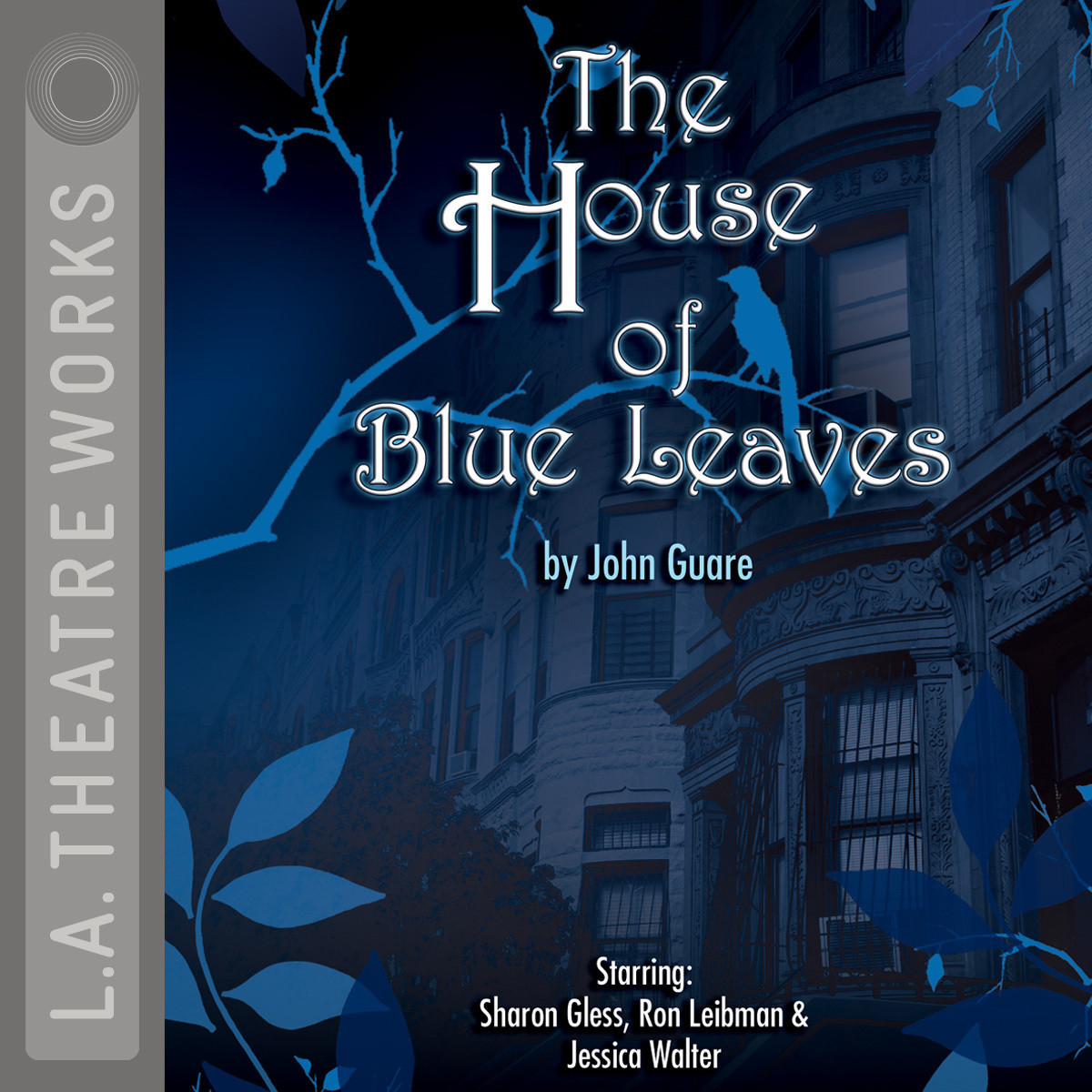 Printable The House of Blue Leaves Audiobook Cover Art