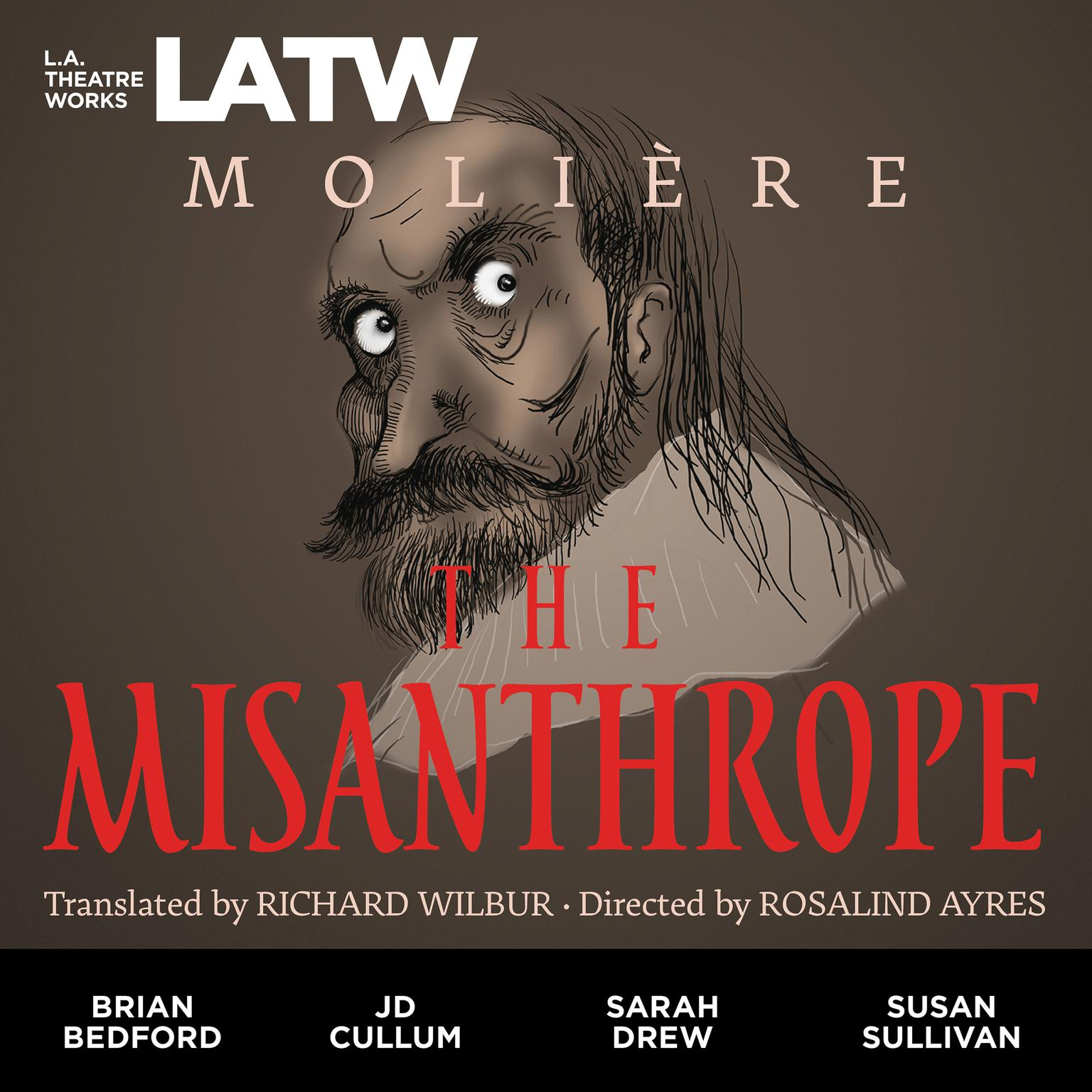 Printable The Misanthrope (2012) Audiobook Cover Art
