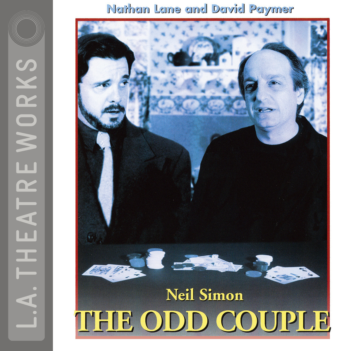 Printable The Odd Couple Audiobook Cover Art