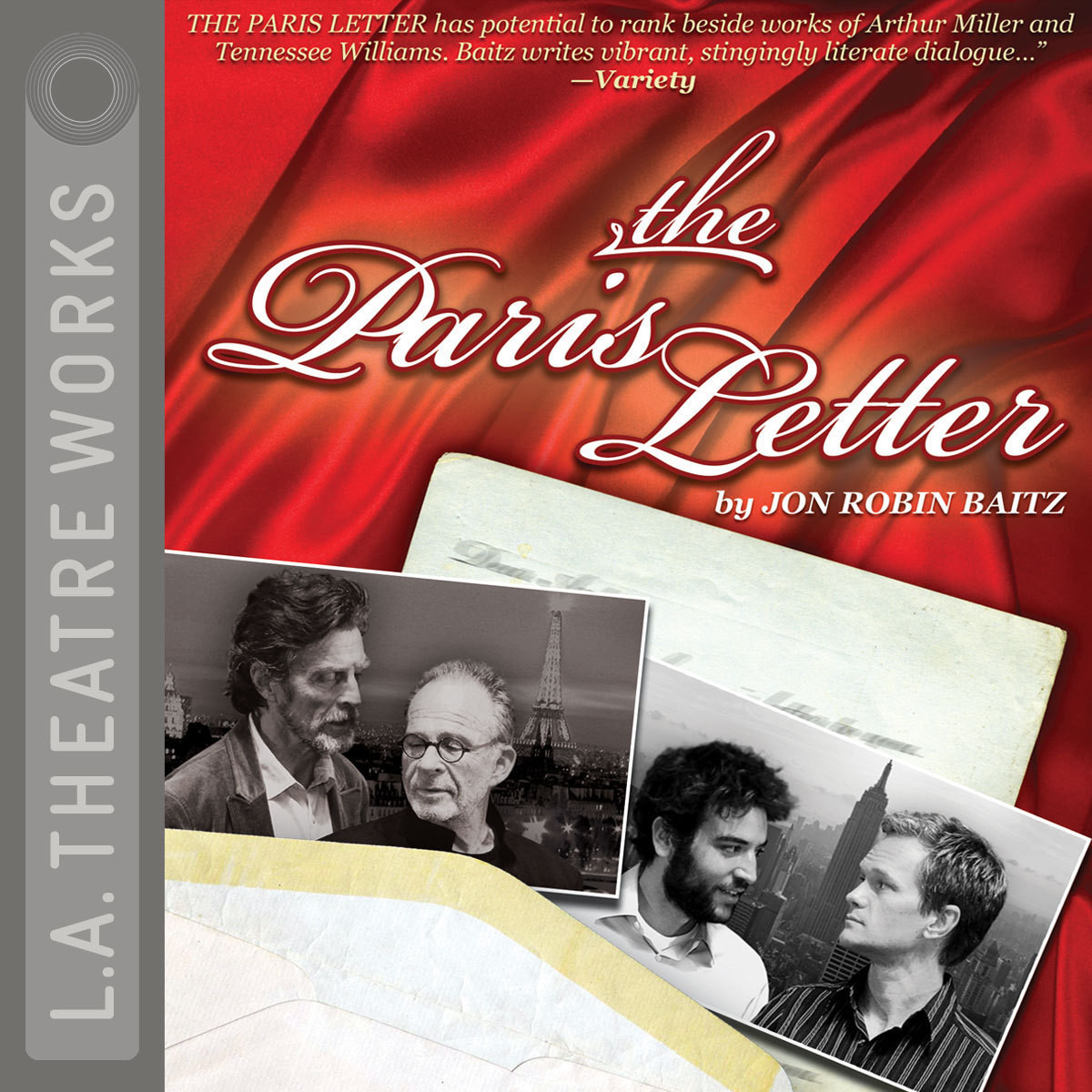 Printable The Paris Letter Audiobook Cover Art