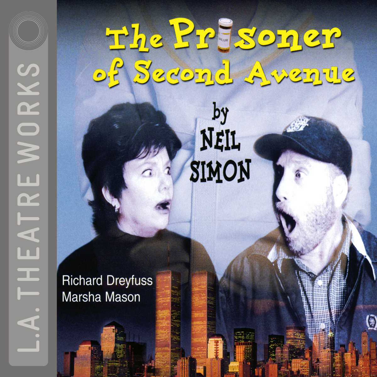 Printable The Prisoner of Second Avenue Audiobook Cover Art