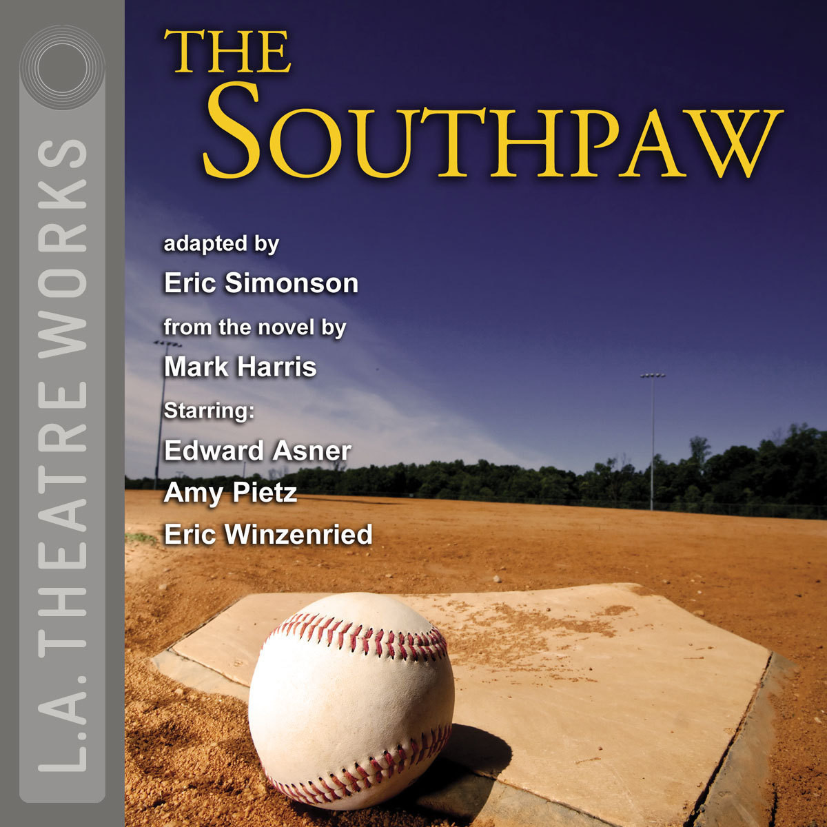 Printable The Southpaw Audiobook Cover Art