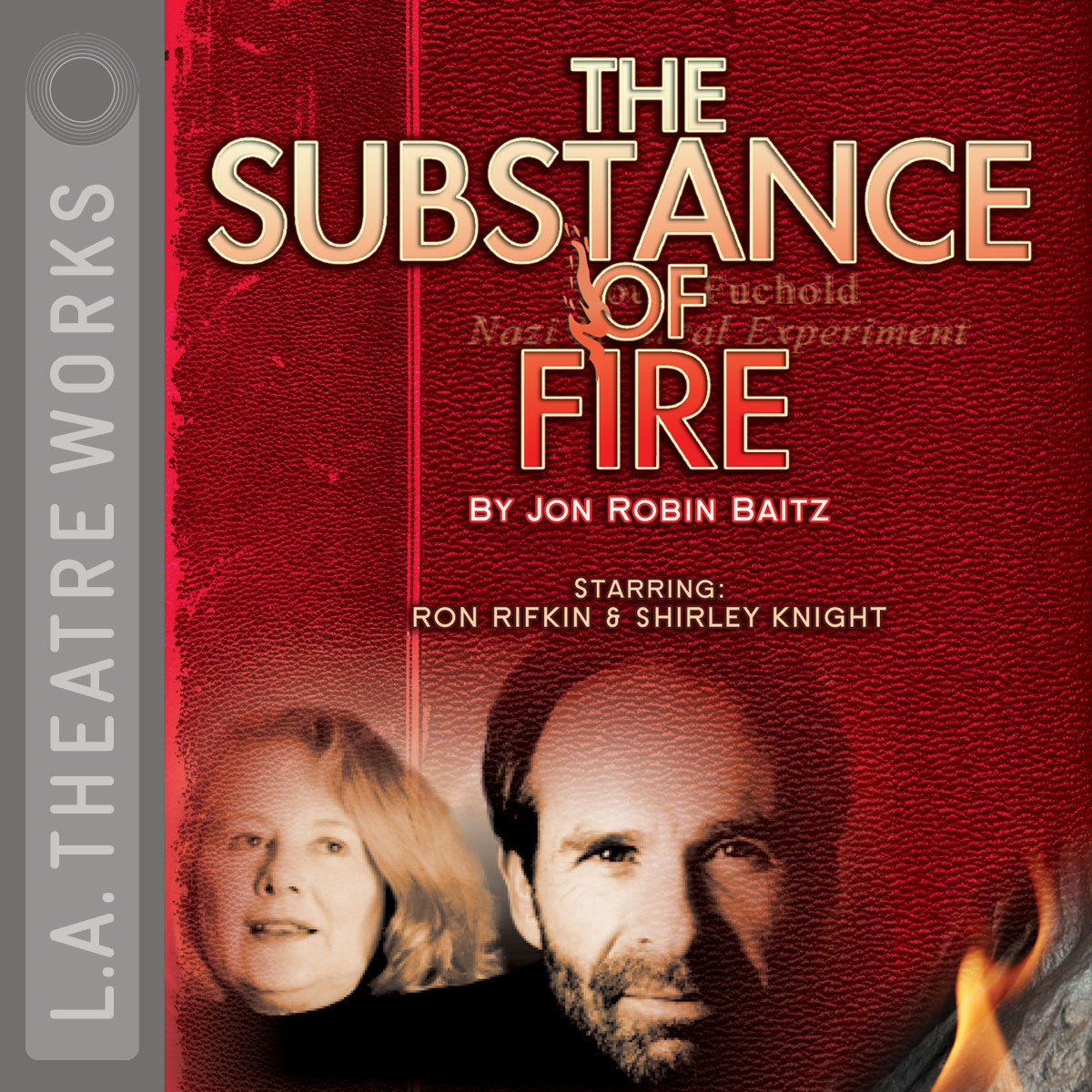 Printable The Substance of Fire Audiobook Cover Art