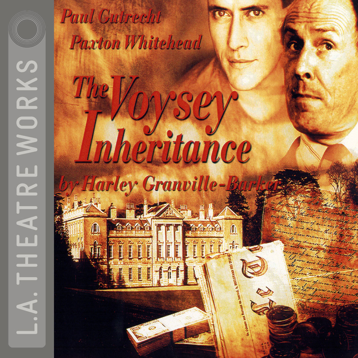Printable The Voysey Inheritance Audiobook Cover Art