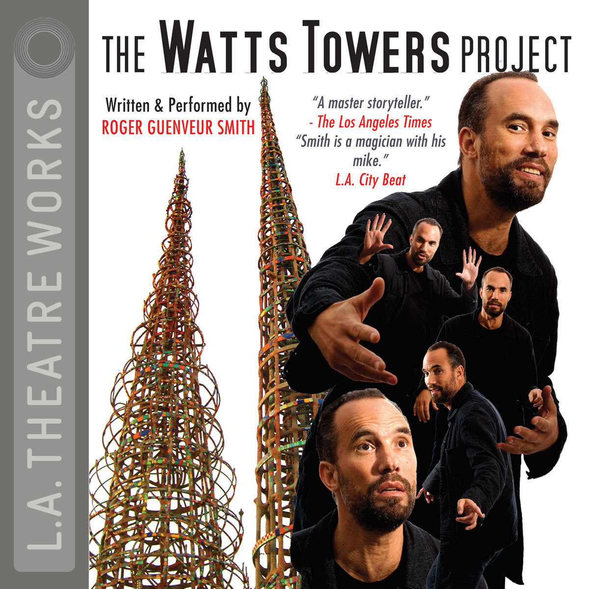 Printable The Watts Towers Project Audiobook Cover Art