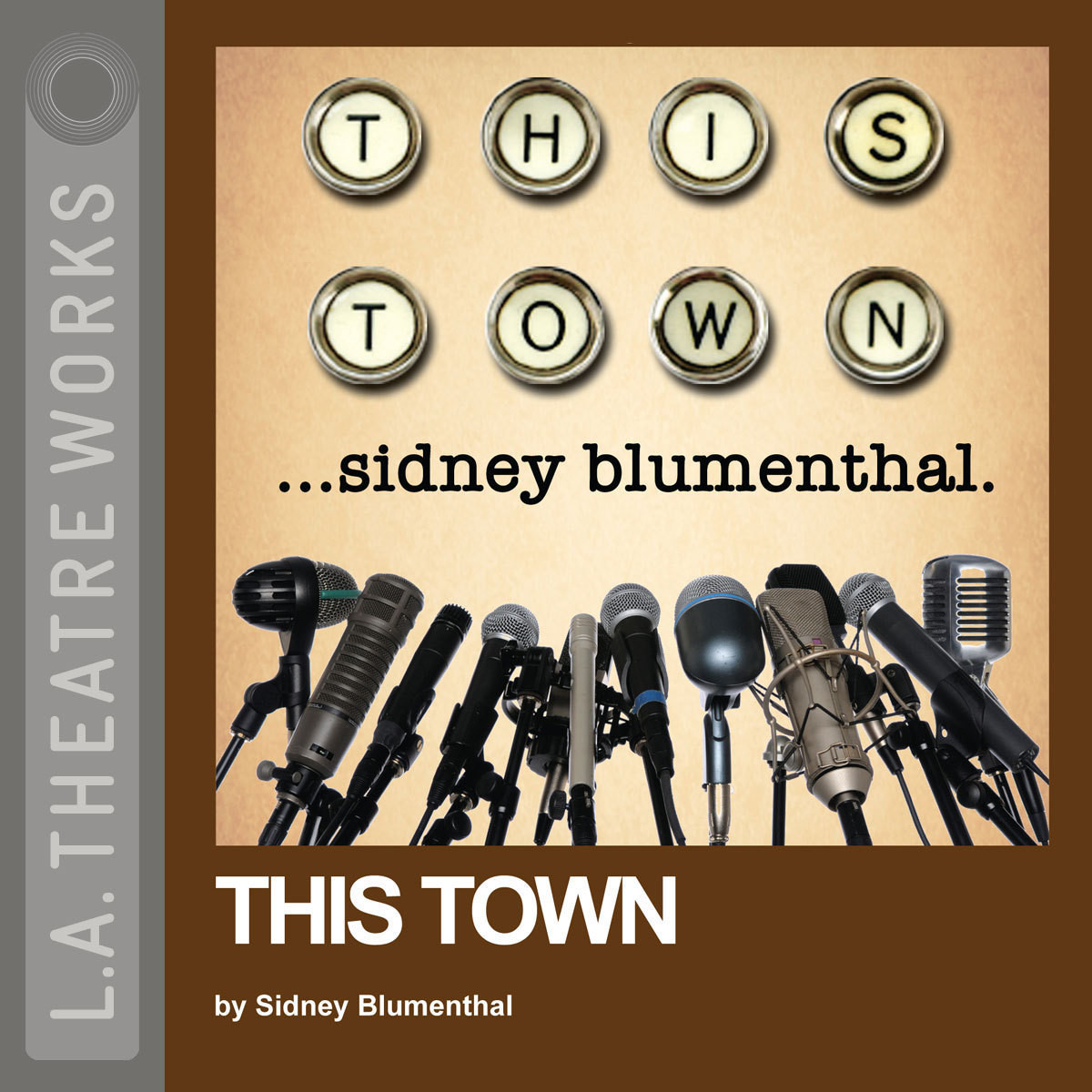 Printable This Town Audiobook Cover Art
