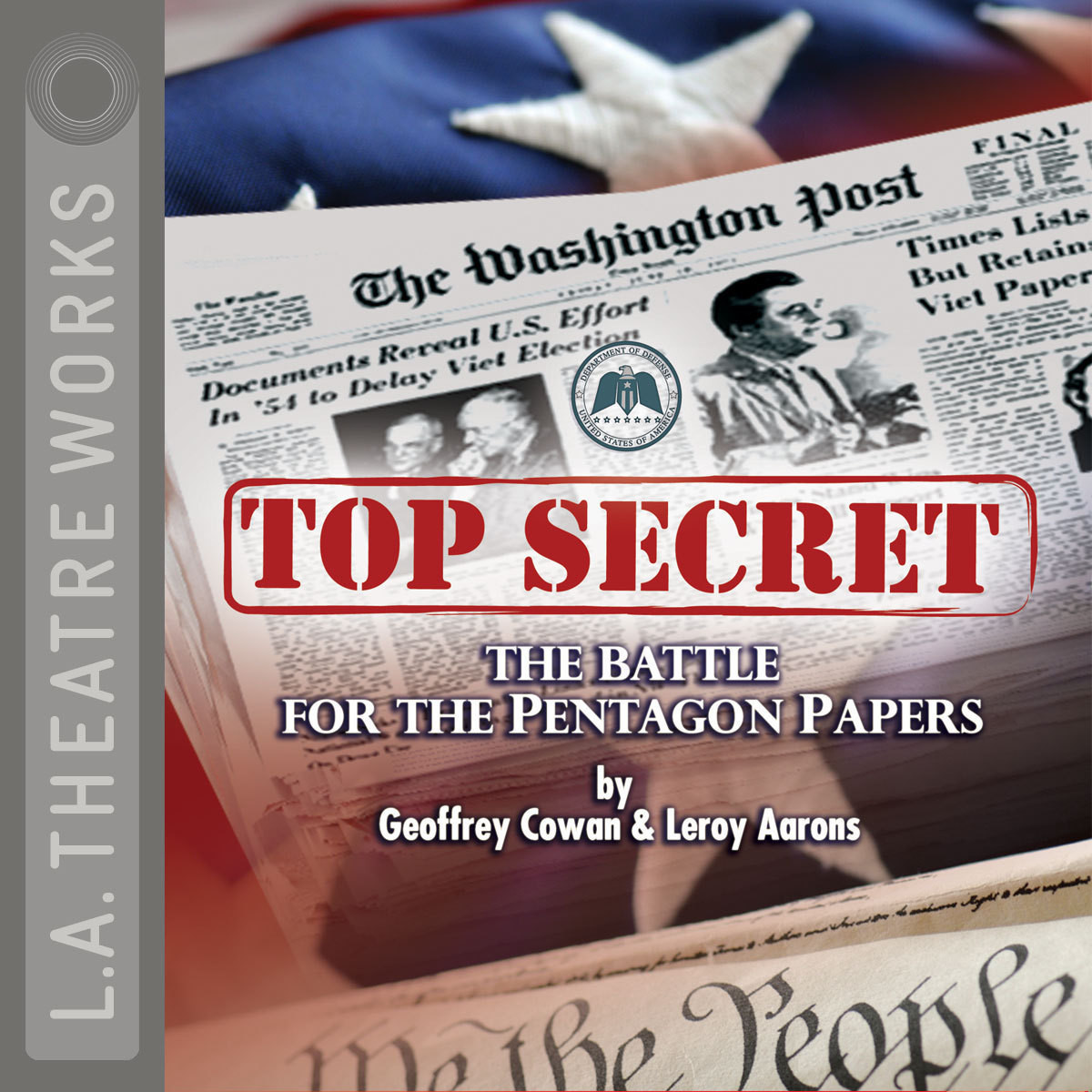 Printable Top Secret: The Battle for the Pentagon Papers Audiobook Cover Art