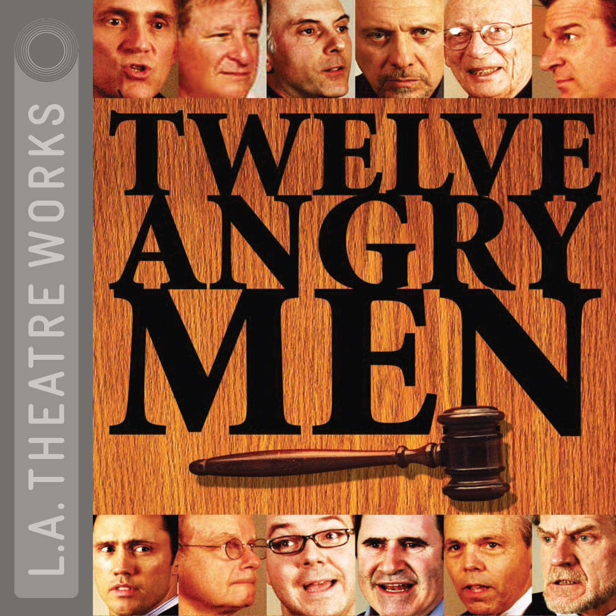 Printable Twelve Angry Men Audiobook Cover Art