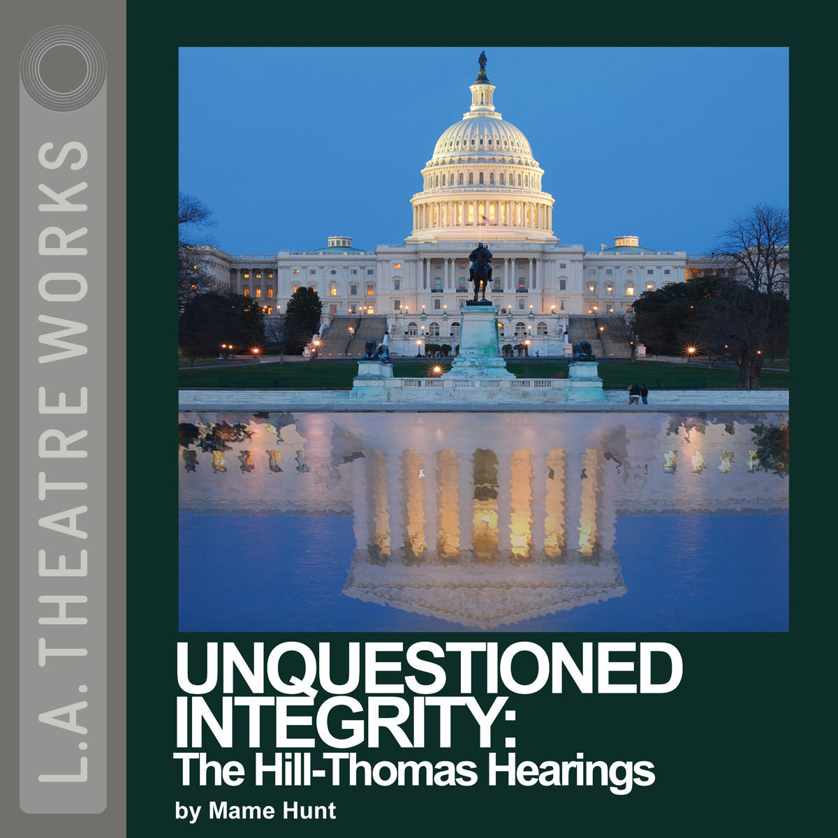 Printable Unquestioned Integrity: The Hill/Thomas Hearing Audiobook Cover Art