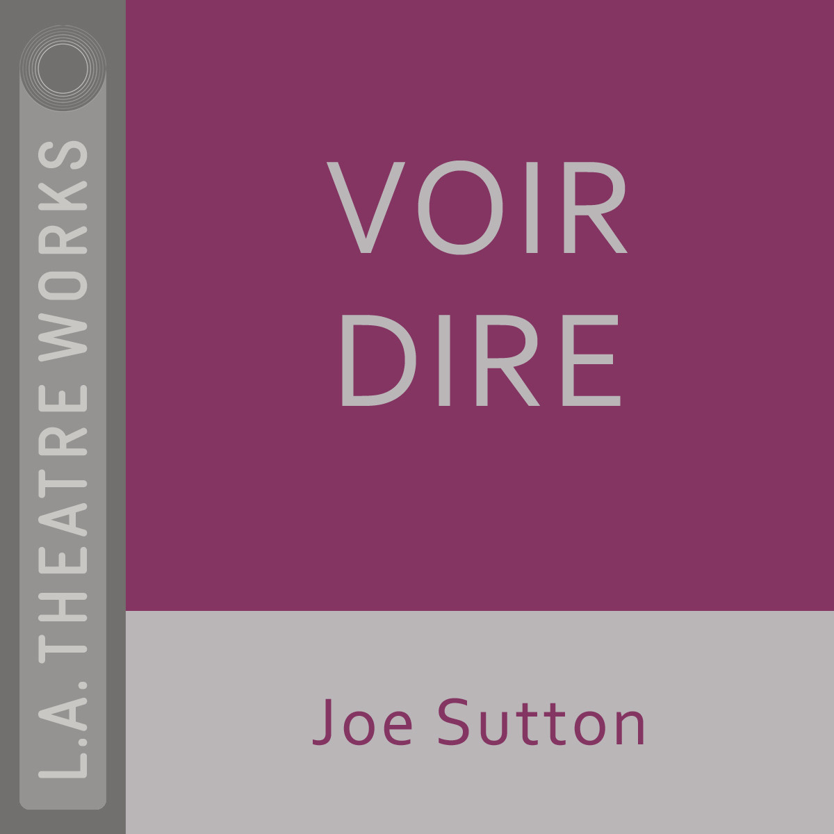 Printable Voir Dire Audiobook Cover Art