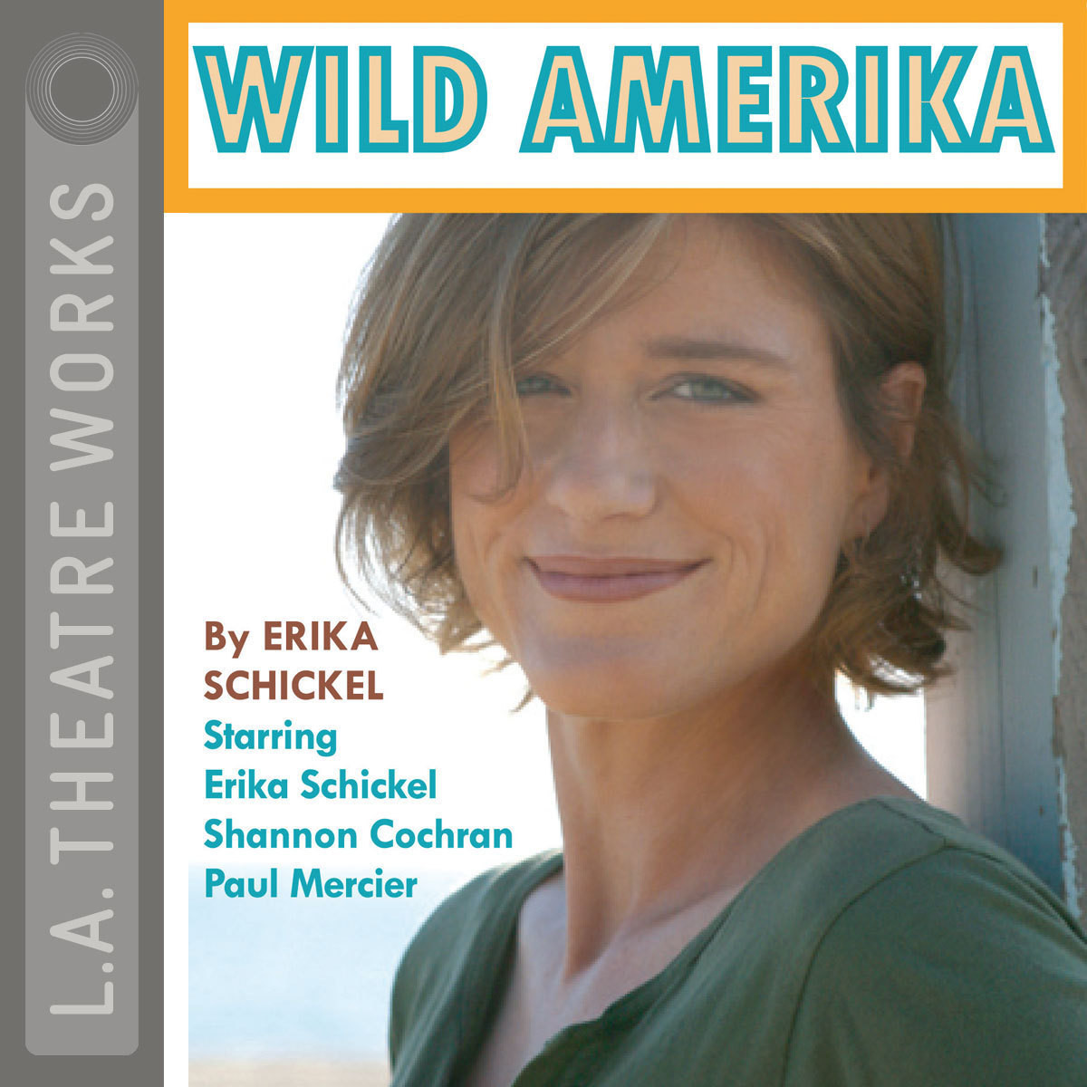 Printable Wild Amerika Audiobook Cover Art