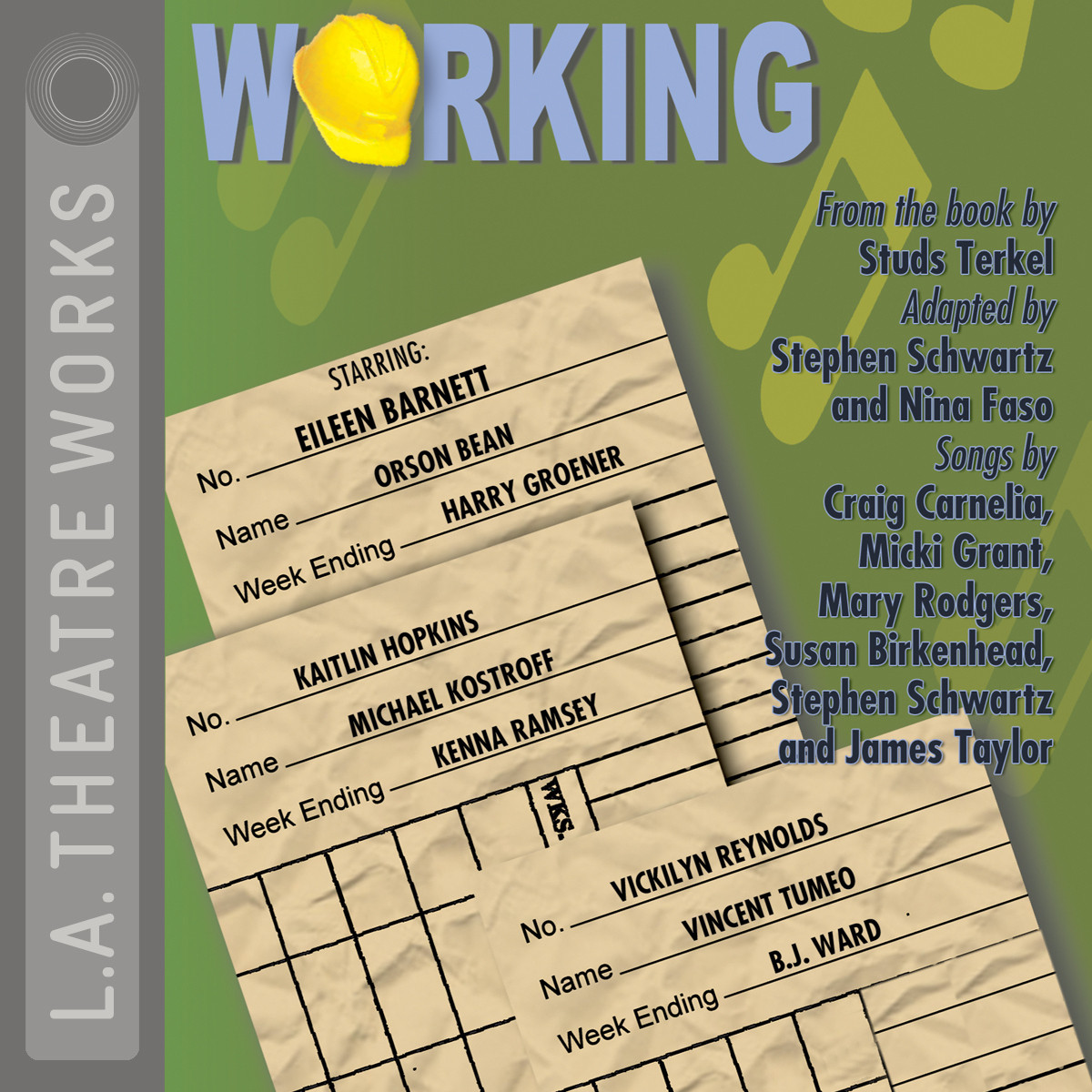 Printable Working Audiobook Cover Art