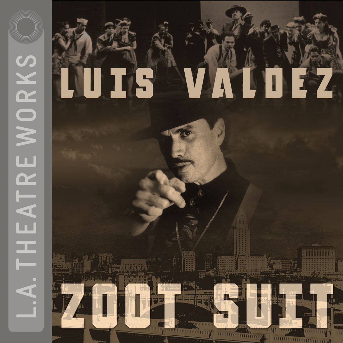 Printable Zoot Suit Audiobook Cover Art