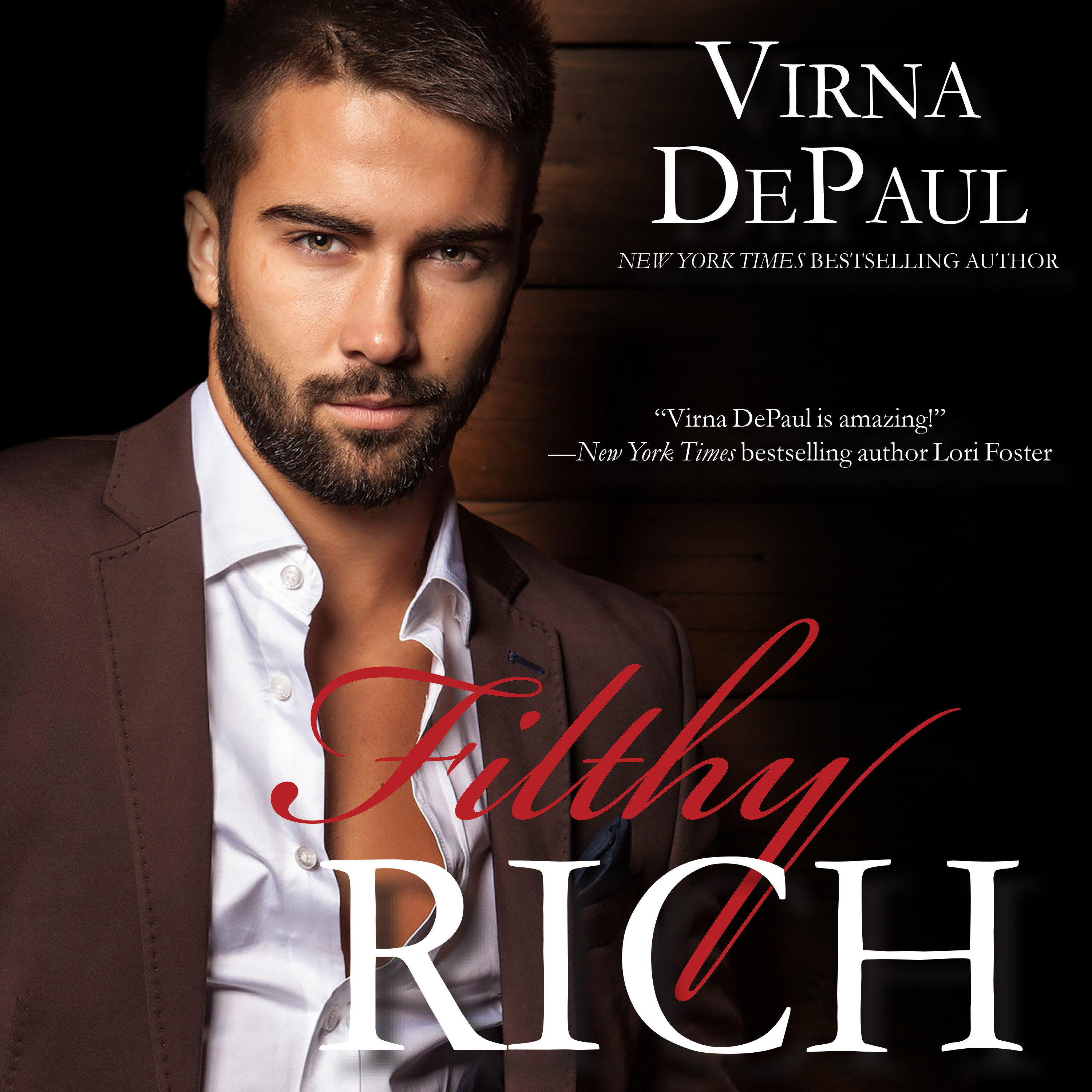 Printable Filthy Rich Audiobook Cover Art