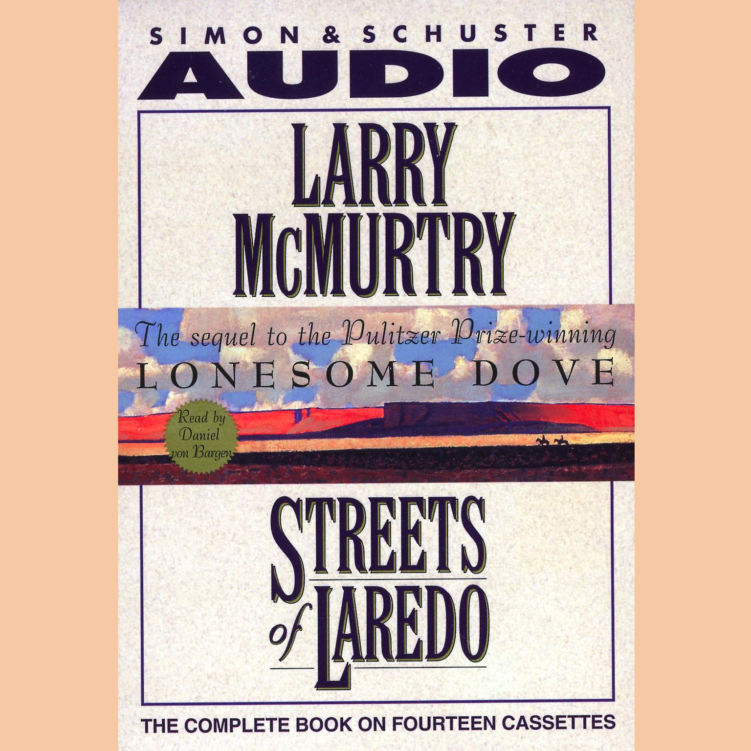 Printable Streets of Laredo Audiobook Cover Art